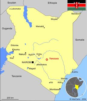 Rencontres et le branchement en Ouganda